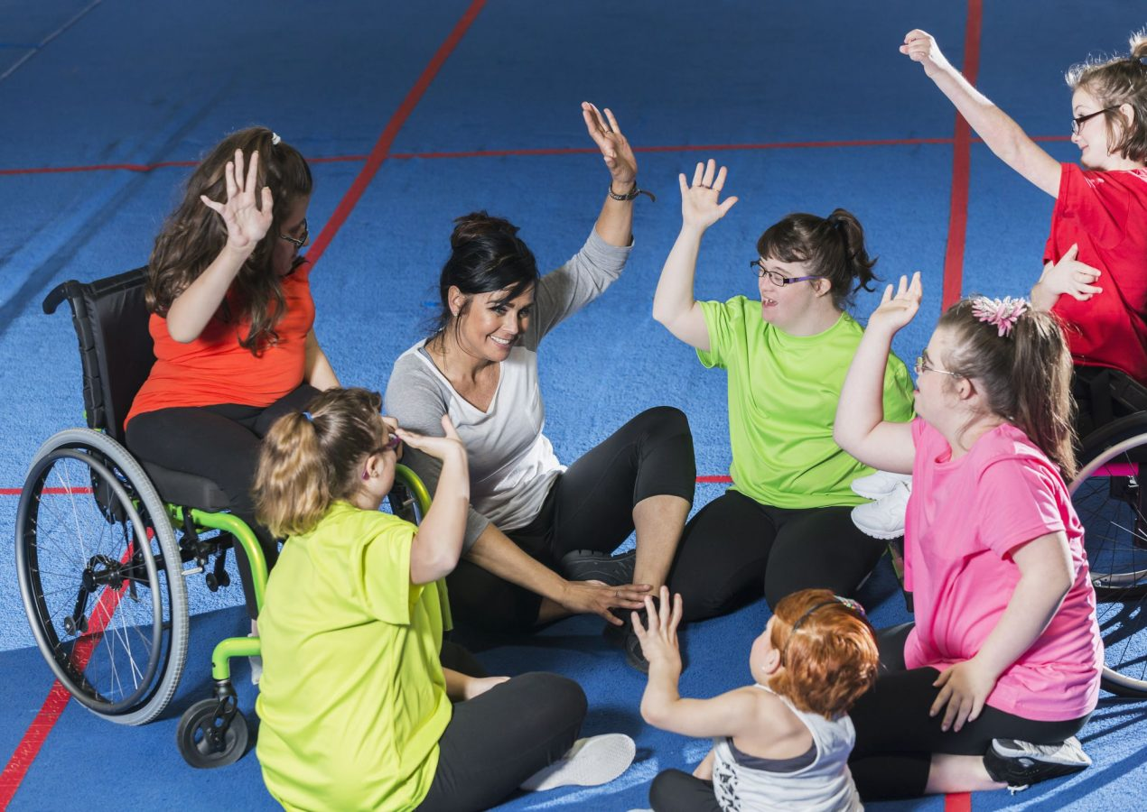 New profession: sports instructor for people with disabilities